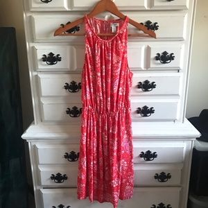OLD NAVY Paisley Cowgirl Midi Dress NWOT XS